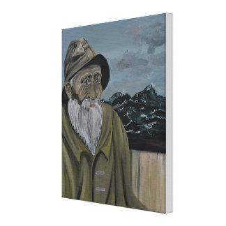 Impressão Em Canvas O pescador