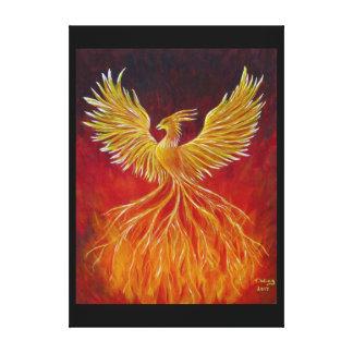 Impressão Em Canvas O Phoenix