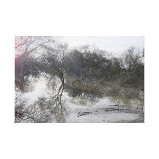 Impressão Em Canvas O Rio San Joaquin, Lathrop, CA 1