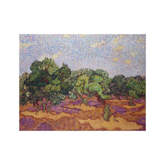 Impressão Em Canvas Oliveiras de Vincent van Gogh