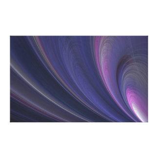 Impressão Em Canvas Ondas de areia macias roxas