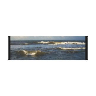 Impressão Em Canvas Ondas de Oceano Atlântico