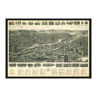 Impressão Em Canvas Opinião Aero Ansonia, Connecticut (1921)