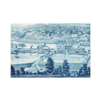 Impressão Em Canvas Opinião Carpentersville Illinois de olho de 1871