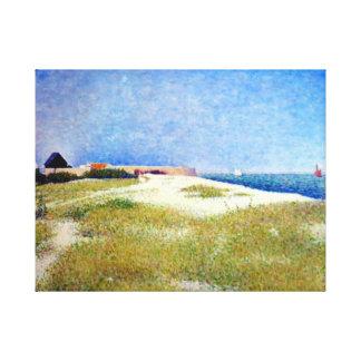 Impressão Em Canvas Opinião de Georges Seurat do forte Samson