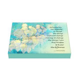 Impressão Em Canvas Oração Manzanita da serenidade