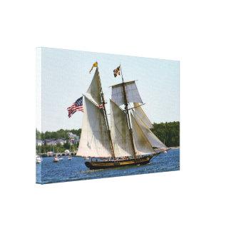 Impressão Em Canvas Orgulho da foto alta do navio de Baltimore II