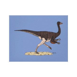 Impressão Em Canvas Ornithomimus