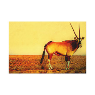 Impressão Em Canvas Oryx
