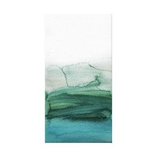 Impressão Em Canvas Paisagem abstrata Painterly