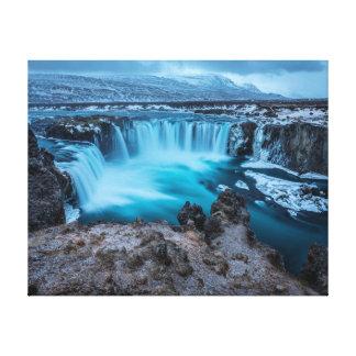 Impressão Em Canvas Paisagem da cachoeira   da fotografia   da