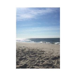 Impressão Em Canvas Paisagem da praia