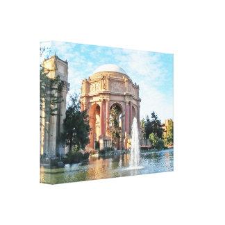 Impressão Em Canvas Palácio das belas artes - San Francisco