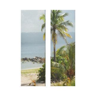 Impressão Em Canvas Palmeira Montego Bay Jamaica