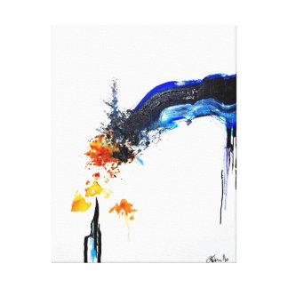 Impressão Em Canvas Parcialmente póstumo