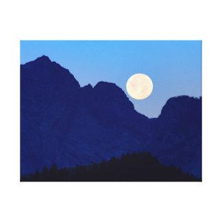 Impressão Em Canvas Parque nacional grande de Tetons