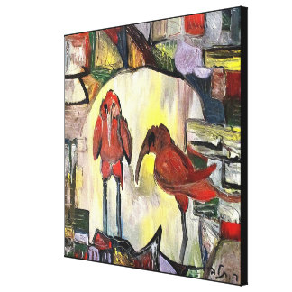 Impressão Em Canvas Pássaros velhos pelo rafi talby