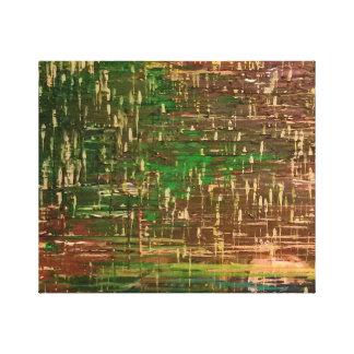 Impressão Em Canvas Pastéis derretidos