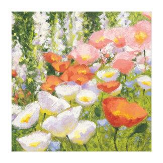 Impressão Em Canvas Pastels do jardim