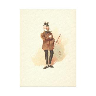 Impressão Em Canvas Pau Swiveller do vintage a loja velha da