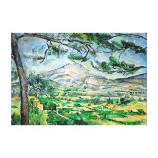 Impressão Em Canvas Paul Cézanne, Mont Sainte-Victoire, Courtald