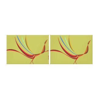 Impressão Em Canvas Pavões das caudas extravagantes