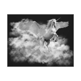 Impressão Em Canvas Pegasus. O vôo do alvorecer