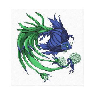 Impressão Em Canvas Peixes da cebola