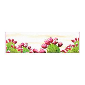 Impressão Em Canvas pera espinhosa da morango