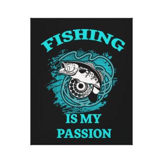 Impressão Em Canvas Pesca