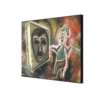 Impressão Em Canvas Pintor pelo rafi talby