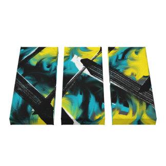 Impressão Em Canvas Pintura abstrata