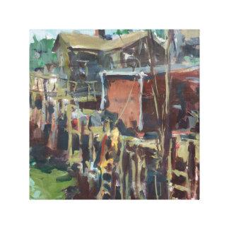 Impressão Em Canvas Pintura de paisagem de Maine
