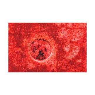 Impressão Em Canvas Pintura vermelha abstrata de Digitas na fotografia