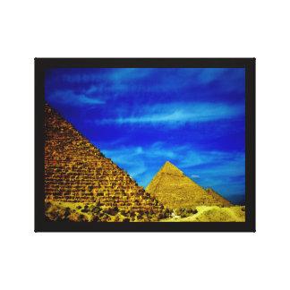 Impressão Em Canvas Pirâmides de Giza