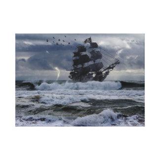 Impressão Em Canvas Piratas de Nova Inglaterra