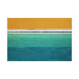 Impressão Em Canvas Piscina