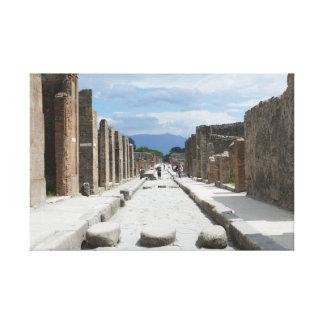 Impressão Em Canvas Pompeii