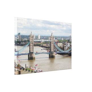 Impressão Em Canvas Ponte da torre, Thames River, Londres, Inglaterra