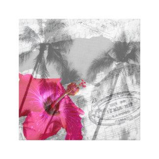 Impressão Em Canvas Pop do hibiscus