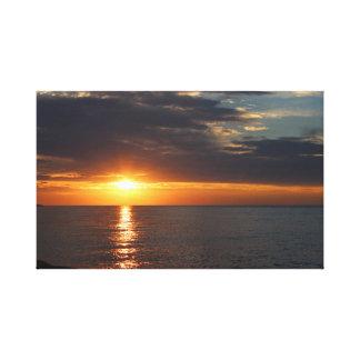 Impressão Em Canvas Pôr do sol