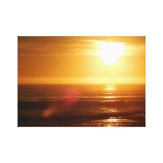 Impressão Em Canvas Por do sol em Rockview