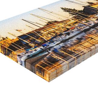 Impressão Em Canvas Porto da Olympia