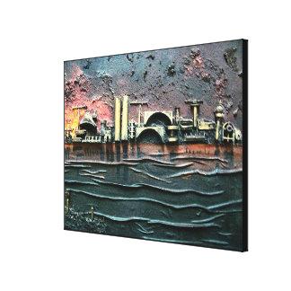 Impressão Em Canvas Porto-parte industrial 2 pelo rafi talby