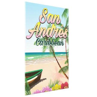Impressão Em Canvas Poster de viagens da ilha de San Andrés