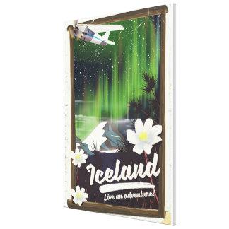 Impressão Em Canvas Poster de viagens do estilo do vintage da paisagem