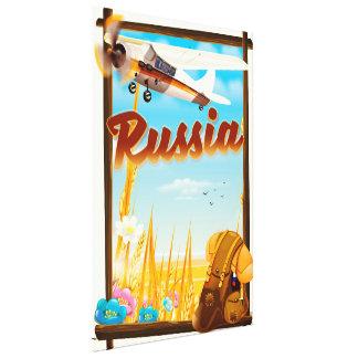 Impressão Em Canvas Poster de viagens dos desenhos animados da