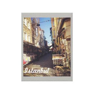 Impressão Em Canvas Poster do mercado de Istambul