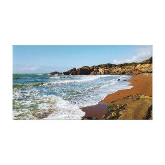 Impressão Em Canvas Praia de Oregon