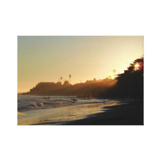 Impressão Em Canvas Praia do leste da movimentação do penhasco